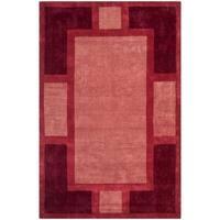 Safavieh Handmade Rodeo Drive Contemporary Multicolored Wool Rug - 6' x 9'