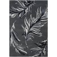 Safavieh Hand-Tufted Allure Grey Wool Rug (5' x 8')