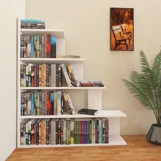 """Decorotika Echo 47"""" Accent Ladder Bookcase 5-Tier"""