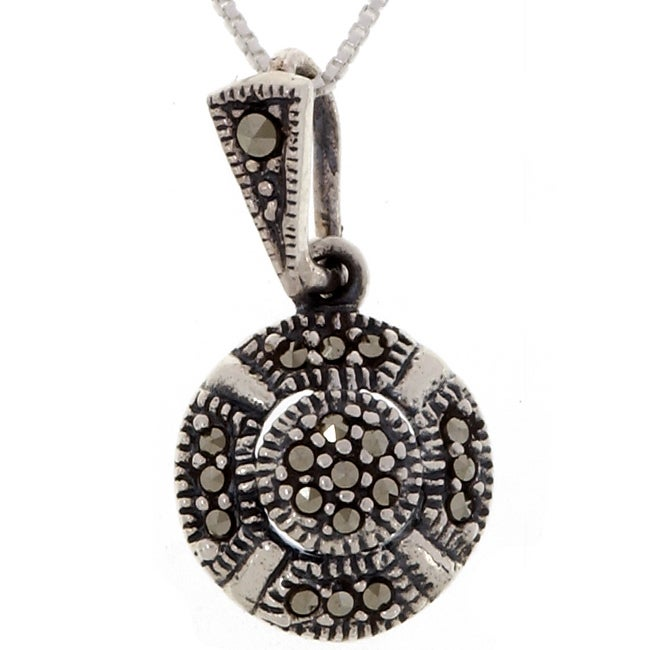 buy teardrop victoria pendant marcasite uneak for opal products