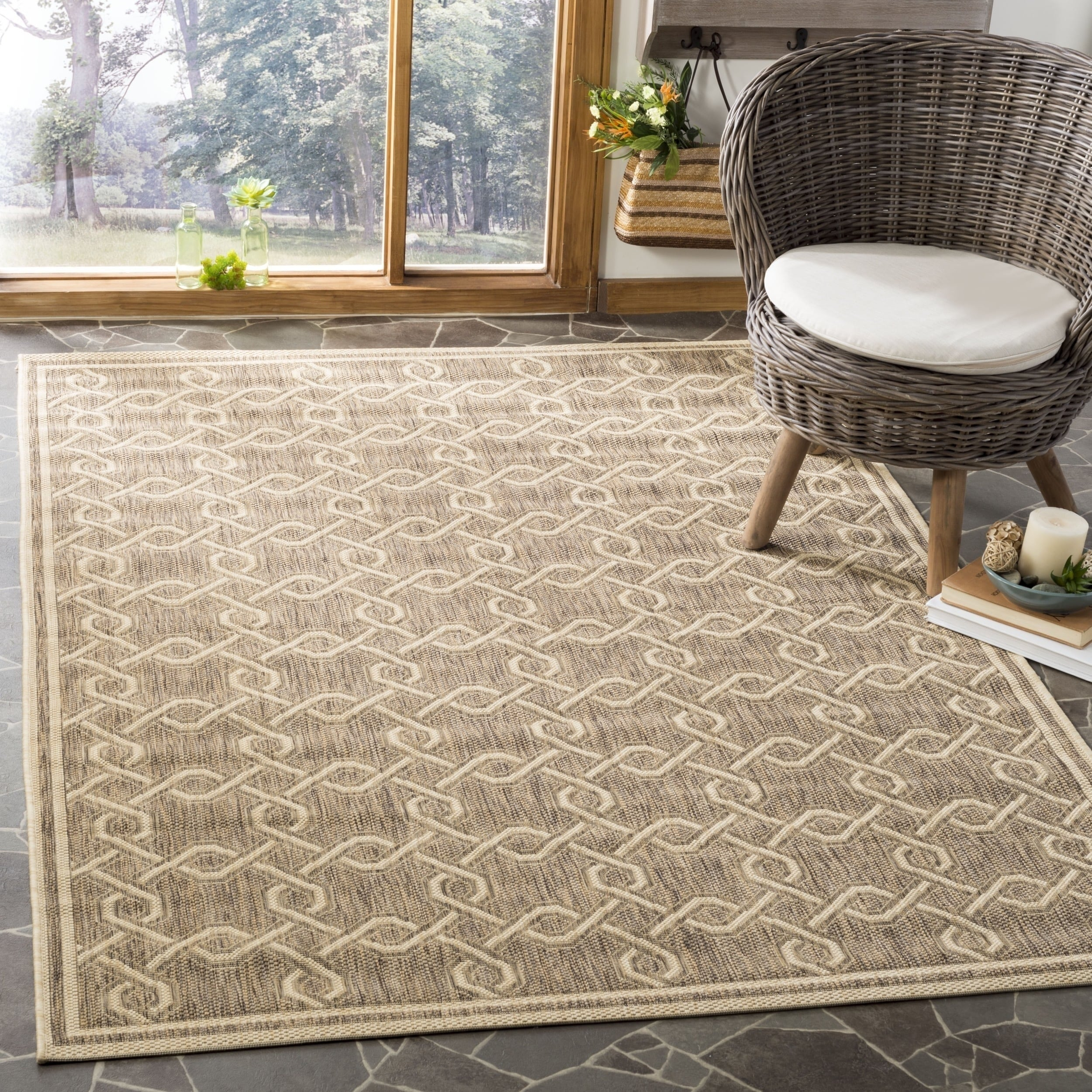 Vintage Elegance Is Integral To The Charm Of Reflection Collection Area Rugs From Safavieh Neutral Hues Make Decorating A Breeze And