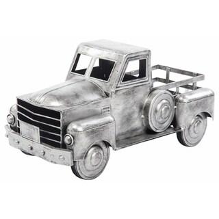 Metal Galvanized Truck Plant Holder