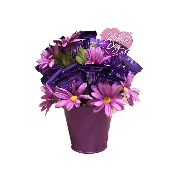 Shop Lavender Ghiradelli Mothers Day Candy Bouquet - Free Shipping ...