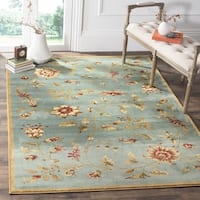 Safavieh Lyndhurst Traditional Floral Blue/ Multi Rug - 8' x 11'