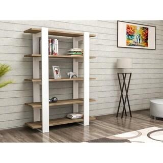 "Decorotika Kata 48"" Accent Bookcase with 5-Tier Open Shelves"