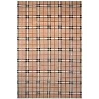 "Safavieh Hand-knotted Lexington Sunset Rust Wool Rug - 7'6"" x 9'6"""