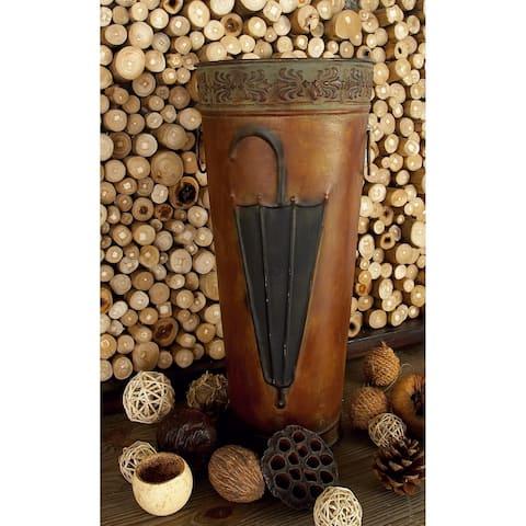 Copper Grove Chatfield Metal Umbrella Stand (Set Of 2)