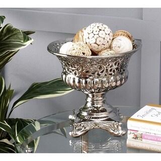 Gracewood Hollow Baldwin Silver Ceramic Decorative Bowl