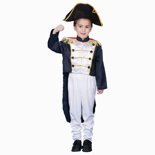 Colonial General Dress-up Costume Set (Medium), Boy's, Si...