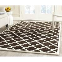 Safavieh Handmade Precious Geometric Polyester/ Wool Rug - 8' x 10'