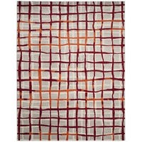 Safavieh Amherst Indoor/ Outdoor Light Grey/ Ivory Rug - 8' x 10'