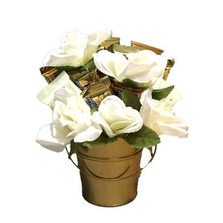 White Rose Ghiradelli Bouquet
