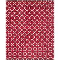 Safavieh Handmade Moroccan Red Wool Area Rug - 8' x 10'