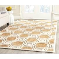 Safavieh Handmade Precious Camel Polyester/ Wool Area Rug - 8' x 10'