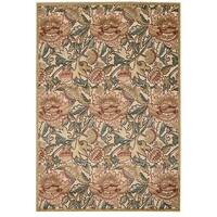 Nourison Graphic Illusions Light Gold Rug