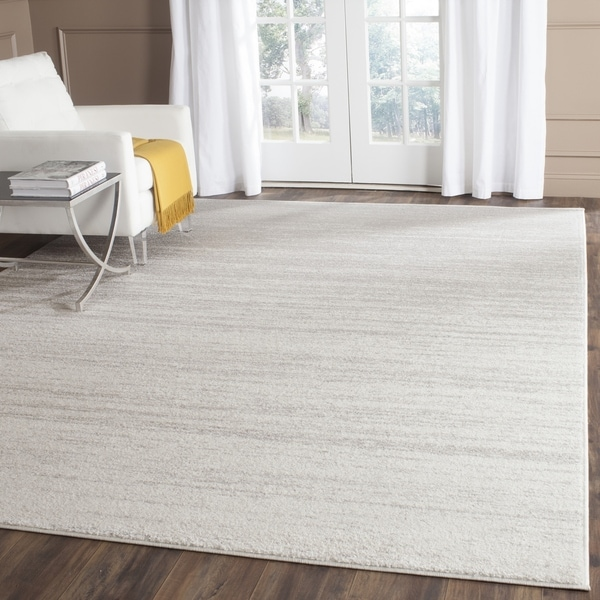 Safavieh Adirondack Vintage Ombre Ivory Silver Area Rug 7 X27 Square