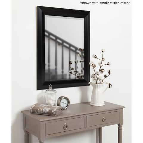 Whitley Classic Framed Beveled Wall Mirror