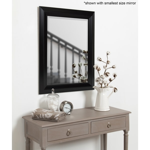 Whitley Classic Framed Beveled Wall Mirror. Opens flyout.