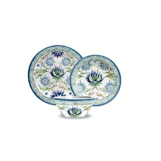 Sikandra Floral Heavy Mold 12-Piece Dining Set