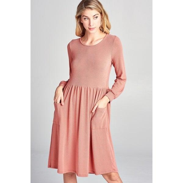 9813bc02a96b2 Shop Spicy Mix Maternity Nursing Lightweight Sweater Midi Dress ...