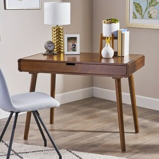 Peninah Mid Century Faux Rubberwood Writing Desk by Christopher Knight Home (2 options available)