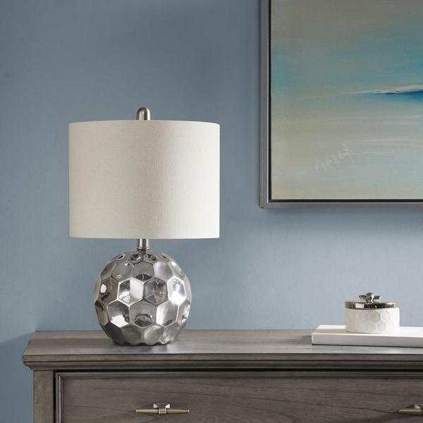 510 Design Frill Silver Table Lamp