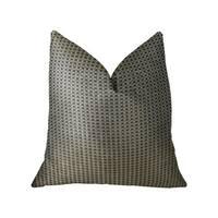 Plutus Bellevue Brown Handmade Luxury Pillow