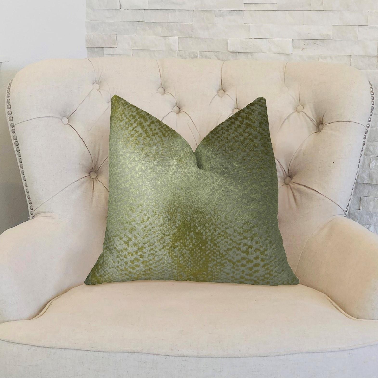 Plutus Venetian Gold Handmade Decorative Throw Pillow Overstock 21107297