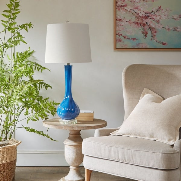 510 Design Willow Blue Table Lamp