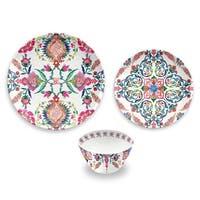 Indie Floral 12-Piece Dinnerware Set