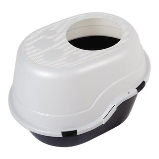 "Favorite 25"" Large Top Entry Enclosed Hooded Cat Litter Box"