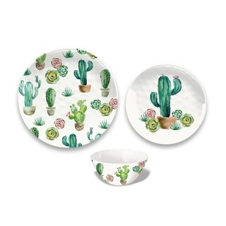 Desert Garden 12-Piece Dinnerware Set