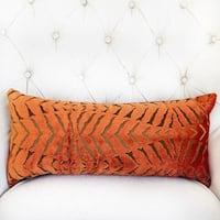 Plutus Tangerine Bliss Orange Handmade Luxury Pillow