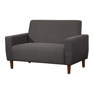 Stiletto Mid Century Linen Loveseat