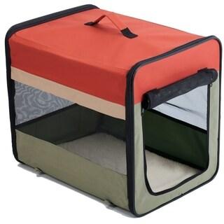 Favorite Soft-Side Vet Visit Travel Foldable Pet Carrier