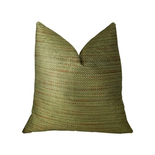 Plutus Forest Meadow Taupe Handmade Decorative Throw Pillow