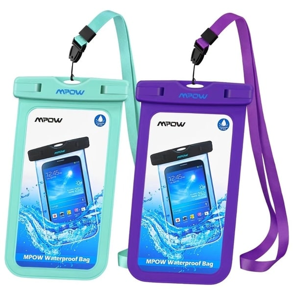 Shop Mpow Waterproof Case Cellphone Dry Bag for iPhone and