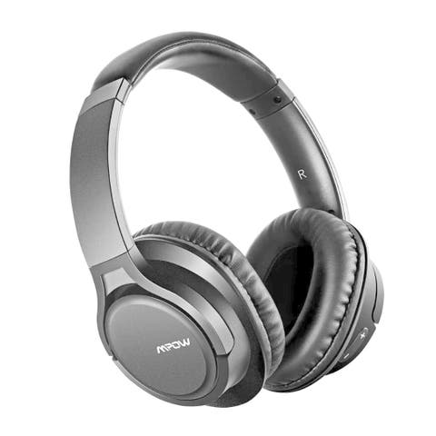 Mpow H7 Bluetooth Headphones Stereo Wireless Over-Ear Headset with Microphone for Cellphone/Tablets/PC/TV