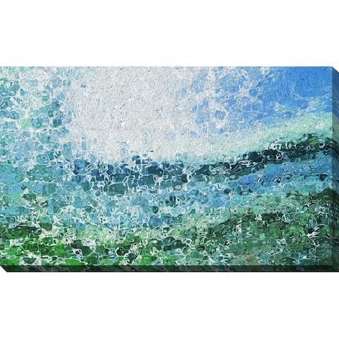 """Southern Ocean"" Framed Print on Canvas"