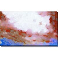 """""""Snow Lake"""" Stretched Canvas Wall Art"""