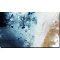 """""""Splash of Gold"""" Stretched Canvas Wall Art"""