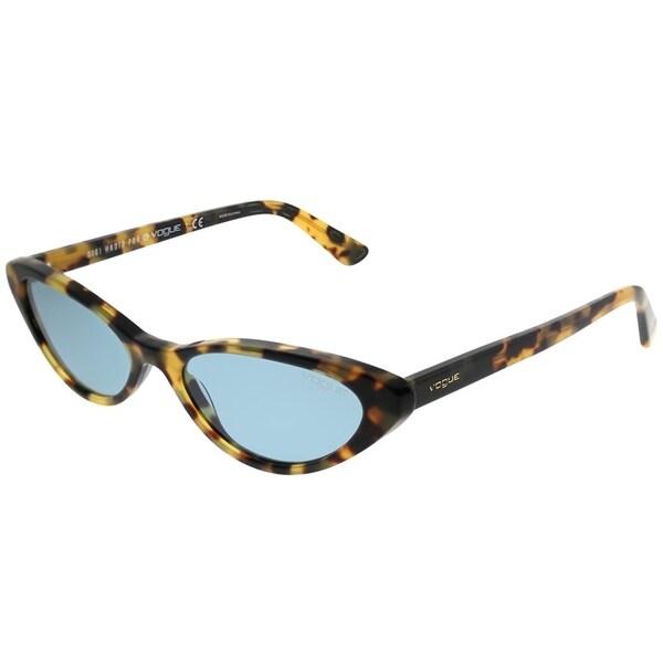 4465617c9f Vogue Eyewear Cat-Eye VO 5237S Gigi Hadid For Vogue 260580 Women Brown  Yellow Tortoise