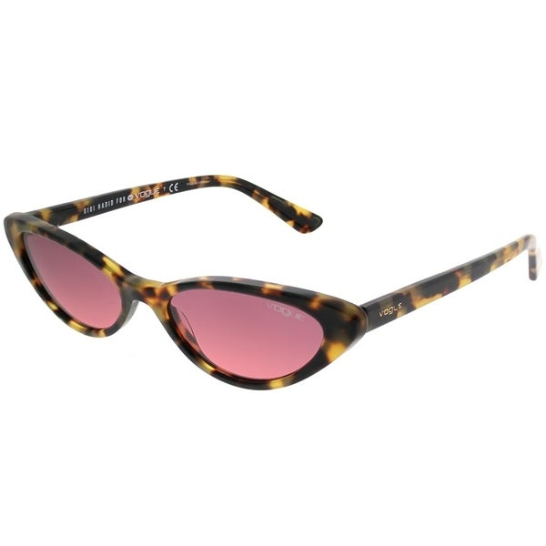 14855f92690 Vogue Eyewear Cat-Eye VO 5237S Gigi Hadid For Vogue 260520 Women Brown  Yellow Tortoise