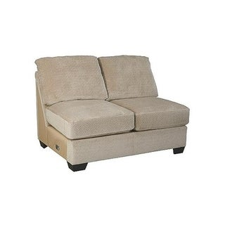 Benchcraft, Hazes Traditional Fleece Armless Loveseat