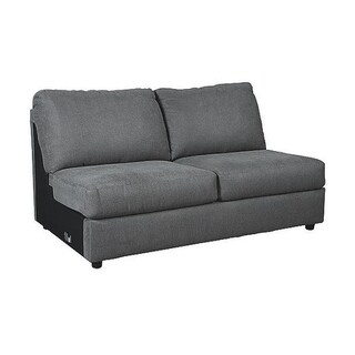 Signature Design by Ashley, Jayceon Contemporary Steel Armless Loveseat