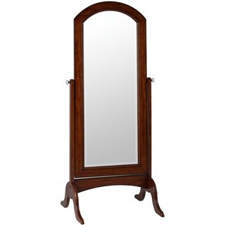 Laurel Cheval Full Length Floor Mirror - Brown