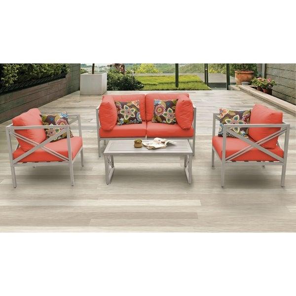 Shop CARLISLE-05b-TANGER - Overstock - 21115946 on Safavieh Outdoor Living Granton 5 Pc Living Set id=18691