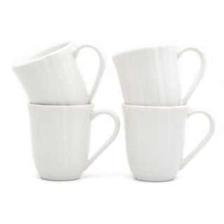 Euro Ceramica Chloe Mugs, Set of 4