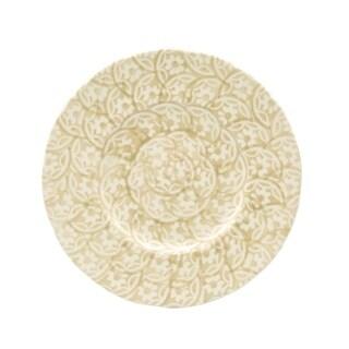 Euro Ceramica Chloe Floral Accent Dessert Plates, Set of 4