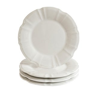 Euro Ceramica Chloe Salad Plates, Set of 4